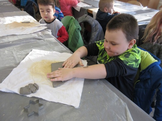 Projektový den ve škole - keramika